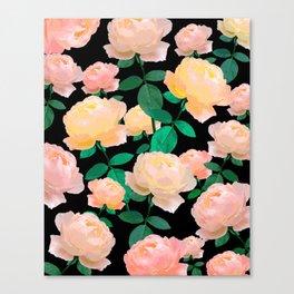 Rose vintage #Society6 Canvas Print