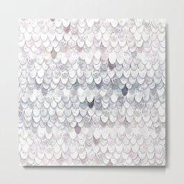 MAGIC MERMAID WHITE Metal Print