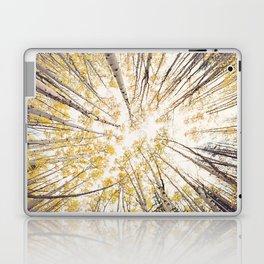 fall looking up Laptop & iPad Skin