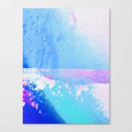 Dandelion collage Canvas Print