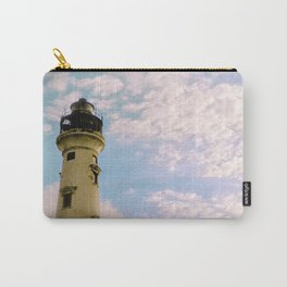 Cloudy at the Lighthouse Carry-All Pouch