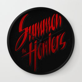 Summon the howlers Wall Clock