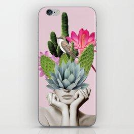 Cactus Lady iPhone Skin