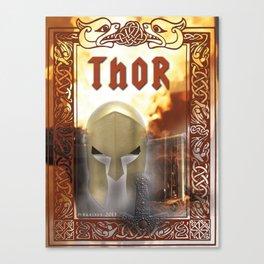 Spiritual Art - Thor -  Canvas Print