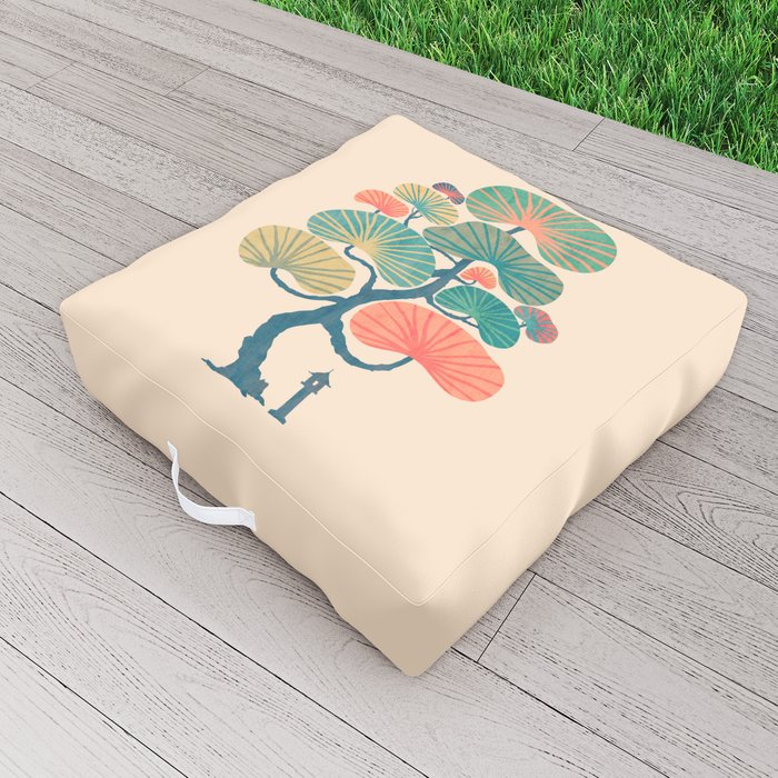 Japan garden Outdoor Floor Cushion