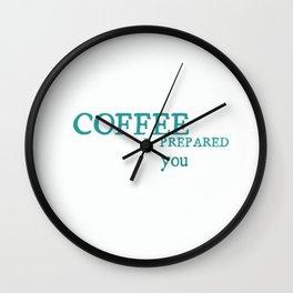 iCoffee Wall Clock