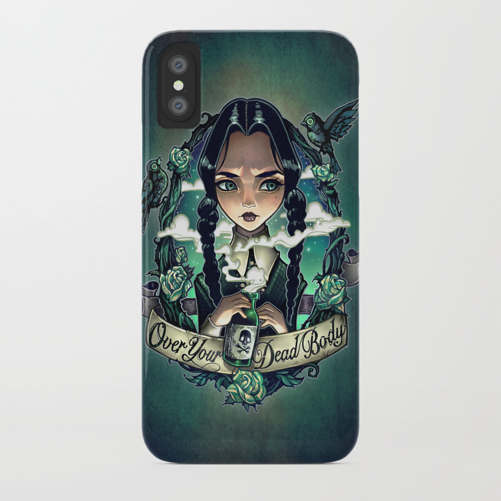 Over Your Dead Body Phone Case by Timshumate PCS3585196