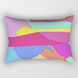 Sun sets in the West Rectangular Pillow