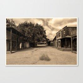 Paramount Ranch Canvas Print