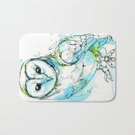 Aqua Tyto Owl Bath Mat