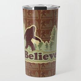 Bigfoot Believe Travel Mug