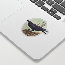 Raven of the North Atlantic Sticker