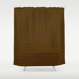 Golden Scales Shower Curtain