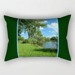 Dog Days of Summer Rectangular Pillow