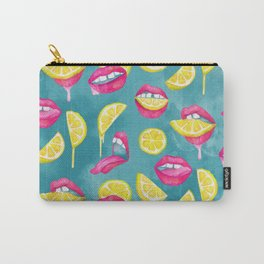 Bitch, Don't Kill My Vibe In Aqua Carry-All Pouch