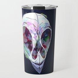 Pastel Skull Travel Mug
