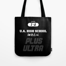 U.A. High School Print Tote Bag