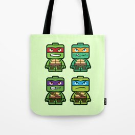 Chibi Ninja Turtles Tote Bag