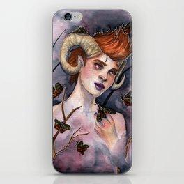 Queen of Moths iPhone Skin