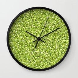 Green shine Wall Clock