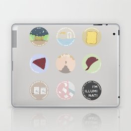EVAK: A MINIMALIST LOVE STORY Laptop & iPad Skin