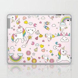 Unicorn Pattern Laptop & iPad Skin