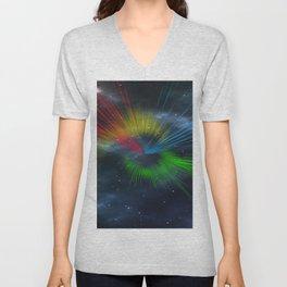 universe streaks Unisex V-Neck