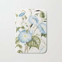 Morning Glories Bath Mat