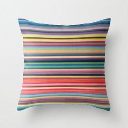 STRIPES 37 Throw Pillow
