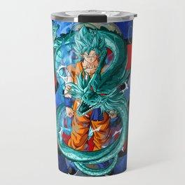 Dragon Ball Super Goku Super Saiyan Blue Travel Mug