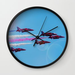 ARROWS IN FLIGHT Wall Clock