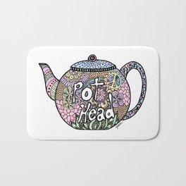 Tea Pot Head Bath Mat