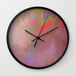 Neon District 1 Wall Clock