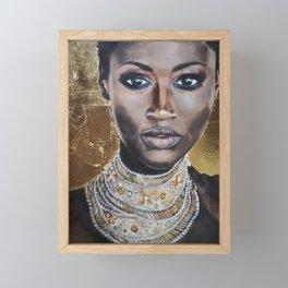 Graceful Ebony Framed Mini Art Print