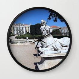 Queluz Gardens Wall Clock