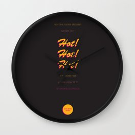 Opening Lines - Sexy Beast Wall Clock