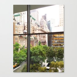 143. Room with view, New York Canvas Print