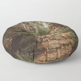 Table Mountains - Landscape and Nature Photography Floor Pillow