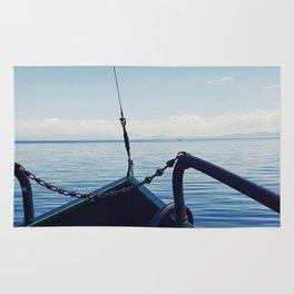 Taupo boat trip Rug