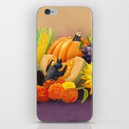Commisions | Bat autumn harvest iPhone Skin