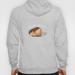 Pellet Factory Hamster Rodents Wild Animals Domestic Pet Lovers Gifts Hoody