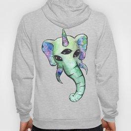 elephant unicorn alien Hoody