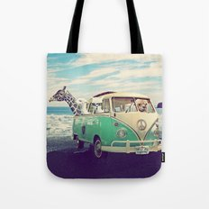 NEVER STOP EXPLORING THE BEACH Tote Bag