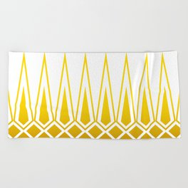Mid Century Muse: Norms in Mustard Beach Towel