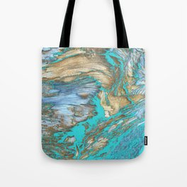 Woody Water Tote Bag