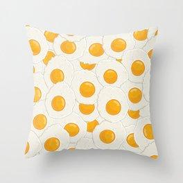 Extra eggs Throw Pillow