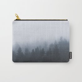 Mysterious forest in the fog Carry-All Pouch