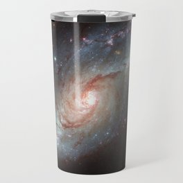 Barred spiral galaxy Travel Mug