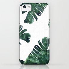 Banana Leaf Watercolor Pattern #society6 Slim Case iPhone 5c