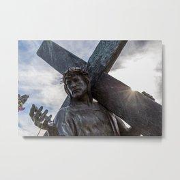 Mission San Luis Rey De Francia Metal Print